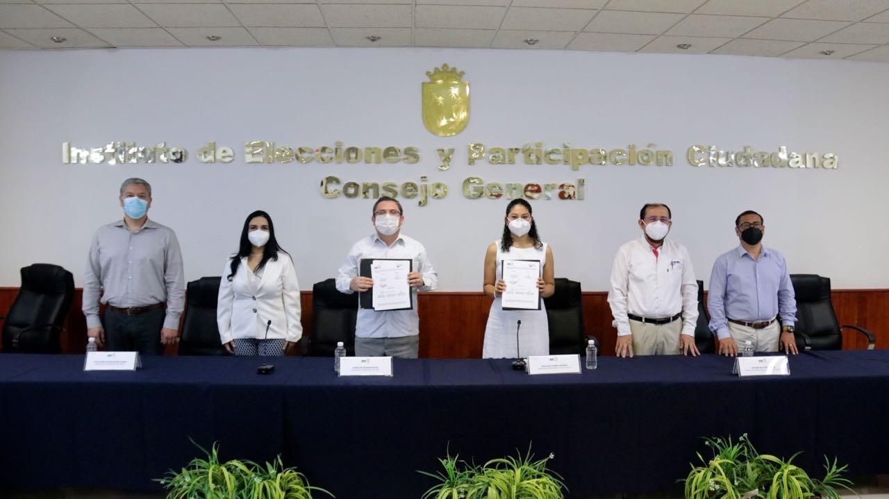 IEPC y consejo del sistema anticorrupción estatal acuerdan colaboración para reforzar la integridad electoral