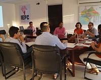 IEPC socializa la ENCCÍVICA con estudiantes universitarios y organizaciones de jóvenes
