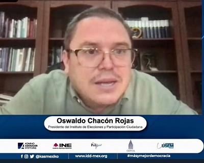 SE REQUIEREN POLÍTICAS EFICACES DE DESARROLLO SOCIAL PARA AVANZAR EN DEMOCRACIA: OSWALDO CHACÓN ROJAS