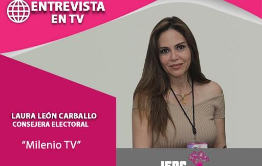 Entrevista con Milenio TV