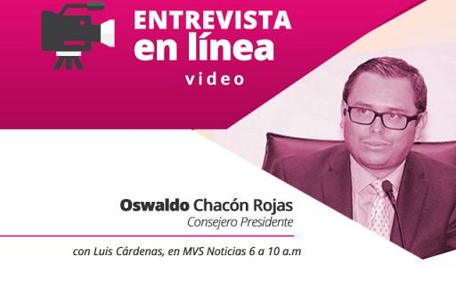 Entrevista Consejero Presidente 100918