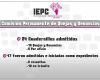 Comisión de Quejas y Denuncias del IEPC emite medidas cautelares en contra del diputado Carlos Penagos Vargas