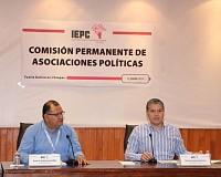 Sesionan en el IEPC comisiones de Educación Cívica, y Asociaciones Políticas