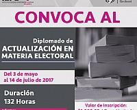 """Convoca el IEPC al diplomado """"Actualización en Materia Electoral"""""""