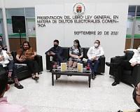 """PRESENTAN LIBRO: LEY GENERAL EN MATERIA DE DELITOS ELECTORALES"""" EN CONGRESO DEL ESTADO"""